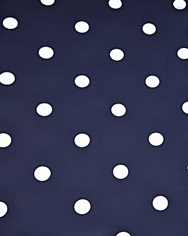 Polka Dot PVC Wipe Clean Table Cloth