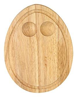 Egg Shaped Egg Holder Board
