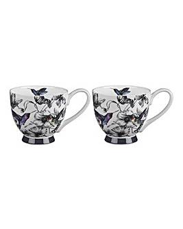 Portobello Set of 2 Marcianna Mugs