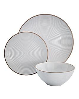 Ripple 16 Piece Stoneware Dinnerset