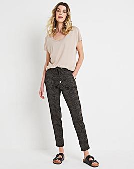 Julipa Printed Ponte Drawstring Trouser