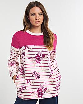 Julipa Leisure Colourblock Sweatshirt