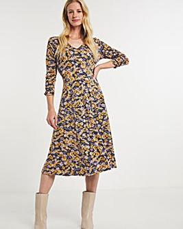 Julipa Floral Jersey Dress