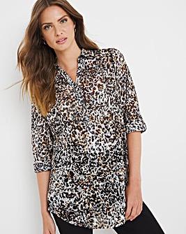 Julipa Animal Burnout Jersey Shirt