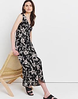 Julipa Twist Front Maxi Dress