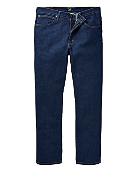 Lee Brooklyn Straight Stretch Onewash Jean 34 In