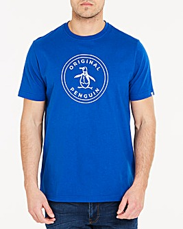 Original Penguin Stamp Logo T-Shirt Long