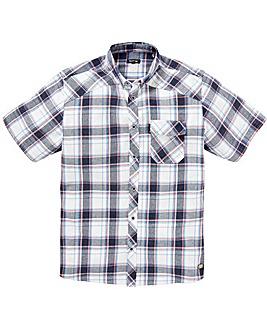 Firetrap Melker Check Shirt Long