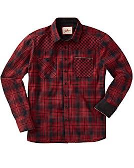 Joe Browns Wild At Heart Check Shirt Reg
