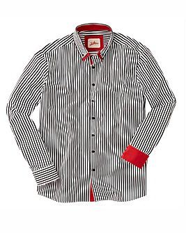 Joe Browns Cool Collar Stripe Shirt Long