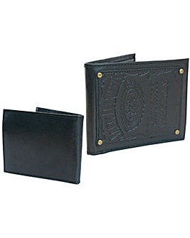 Jack Daniels Engraved Logo Wallet