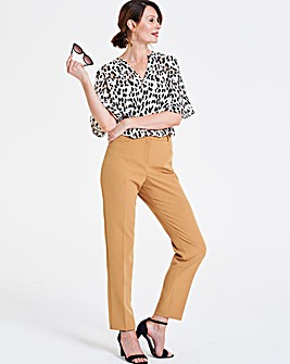 Leopard Print Ladder Insert Tunic