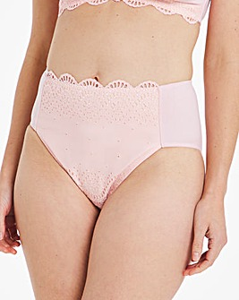Pretty Secrets Broderie Cotton Full Brief