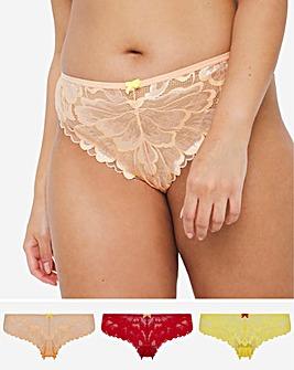 Pretty Secrets 3 Pack Rainbow Lace Brazillians