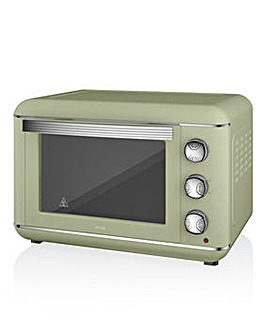 Swan Retro Sage Green 23L Mini Oven