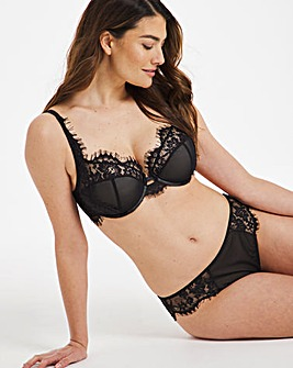 Contemporary Mesh & Lace Bra