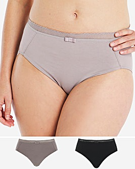 2 Pack Bamboo Cotton Briefs