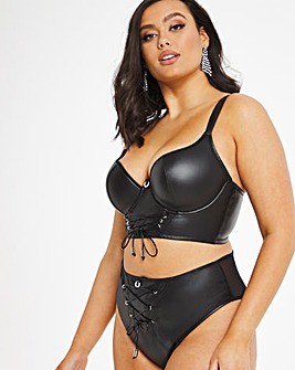 Simply Be Paris Rouge Giselle Padded Midi Bra