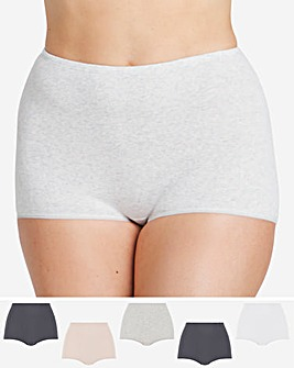 5 Pack Comfort Shorts
