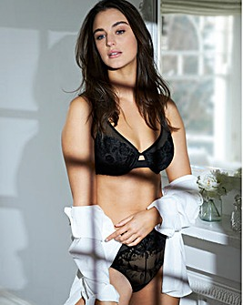 Pretty Secrets Contemporary Embroidery High Apex Bra
