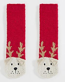 1 Pack Super Soft Fluffy Character Sock