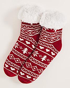 1 Pack Long Slipper Sock
