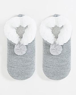 1 Pack Short Slipper Sock