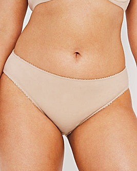 Pretty Secrets Nude Feather Touch Brief