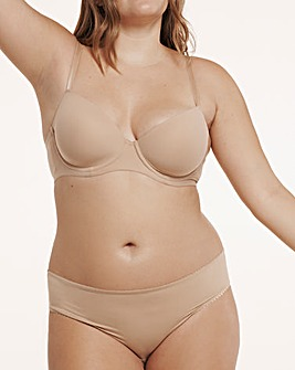 Pretty Secrets Nude Barely-There Tshirt Bra