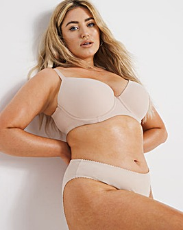 Pretty Secrets Nude Barely-There Tshirt Bra