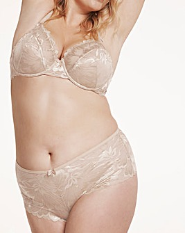 Pretty Secrets Nude Lace Balcony Bra