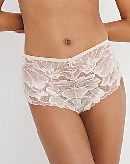 Pretty Secrets Nude Lace Shorts