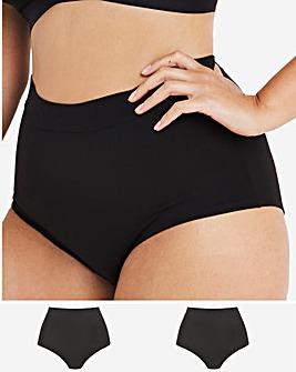2 Pack Modal Cotton Comfort Shorts