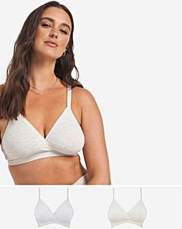 2 Pack Modal Cotton Comfort Top