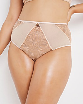 Contemporary Geo Lace Full Fit Brief