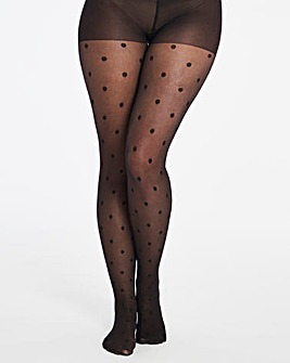 Pretty Secrets 1 Pack Spot Tights