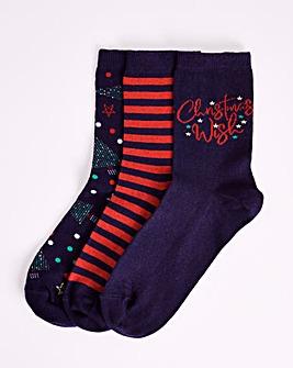 3 Pack Socks in Gift Box