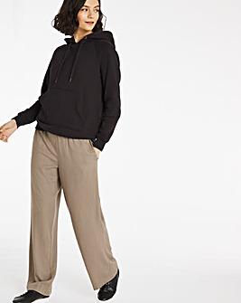 Tie Waist Wide Leg Trousers Regular