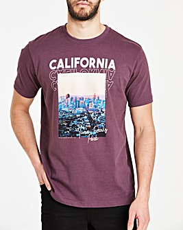 Cali Purple S/S T-Shirt L