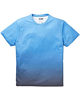 Faded Sublimation Blue T-Shirt L