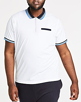 White Sports Polo L
