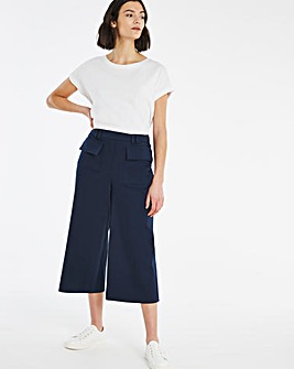 Smart Utility Crop Trousers