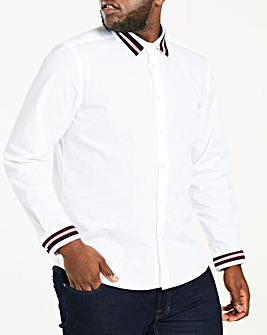 Tape Insert Long Sleeve Shirt