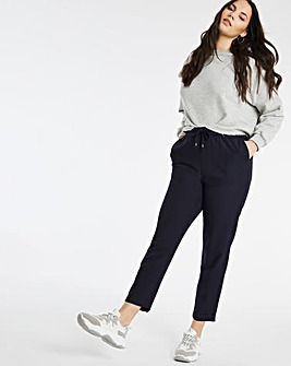 Linen Mix Joggers Regular