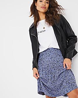 Tiered Short Length Skirt