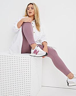 High Waisted Cotton Legging