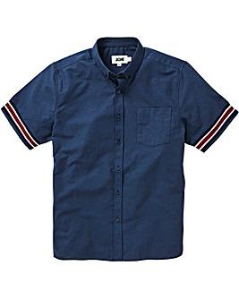 Cuff Detail Short Sleeve Shirt Long