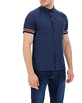 Cuff Detail Short Sleeve Shirt