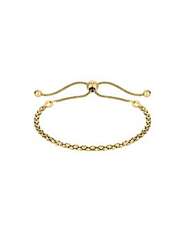 14ct Gold Plated Twist Toggle