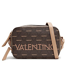 Valentino By Mario Valentino Liuto Logo Camera Bag